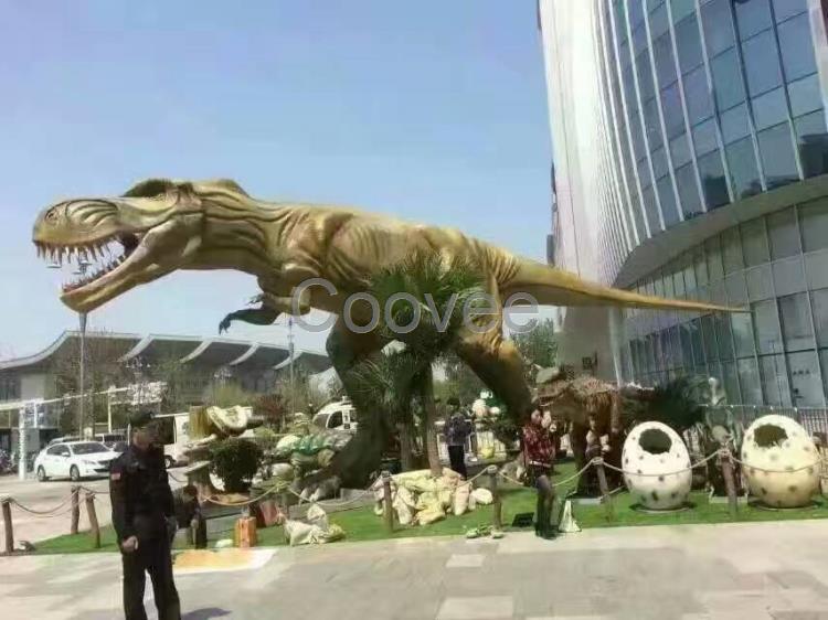 恐龙模型出租大型恐龙制作上海租赁制作工厂