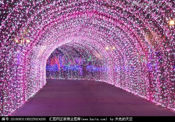 圣诞树厂家梦幻灯光节厂家炫酷的灯光展览
