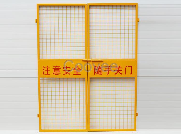 货梯安全门建筑施工用电梯门施工工地门