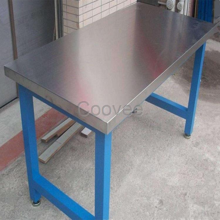 广州不锈钢工作台设计定做打包不锈钢桌子操作台