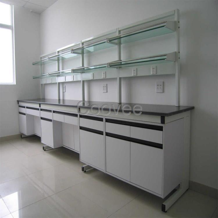 厂家直销非标定制实验室工作台实验中央台边台试剂架