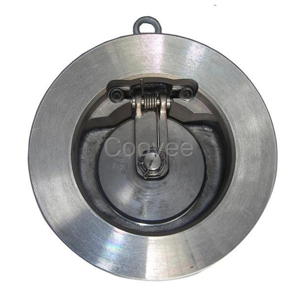 对夹旋启式止回阀是一种超薄形止回阀,采用短型结构尺寸和单阀瓣