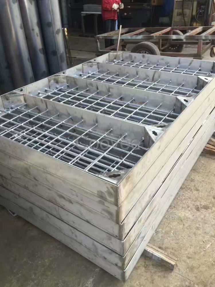 重庆304下沉式不锈钢井盖厂家定制加工图片