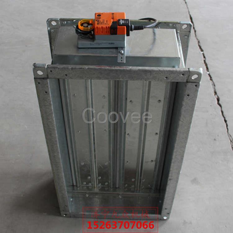 全自动复位手动电动调节阀70度防火阀图片