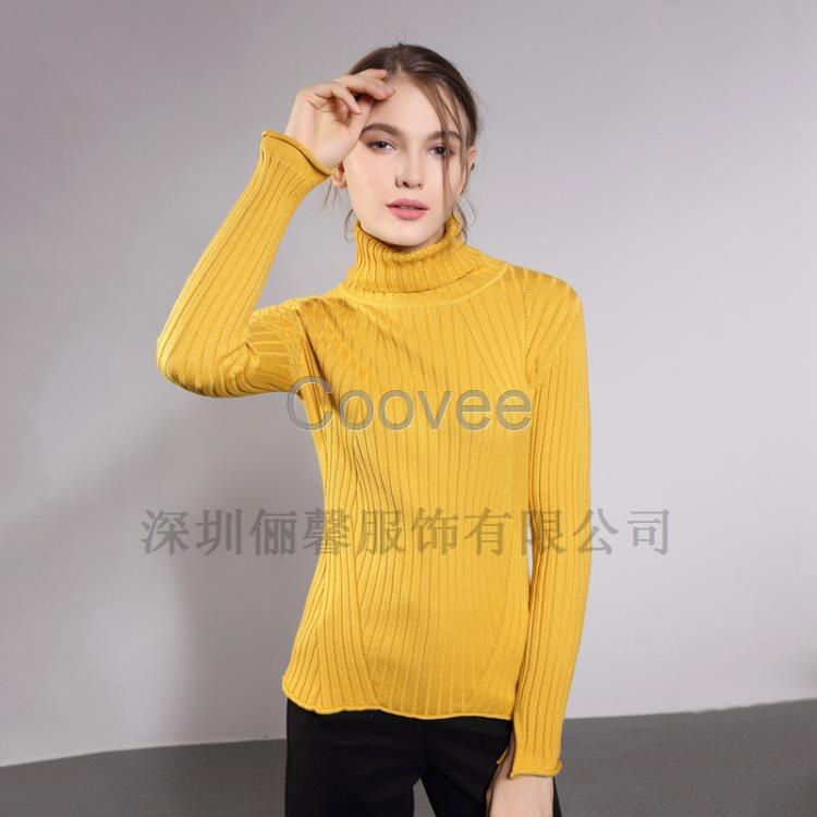深圳女士棒针毛衣编织款式低价实惠