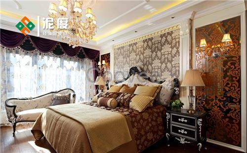 粉末涂料 硅藻泥床头背景墙丨就是这么美   建议大家在选择硅藻泥卧室