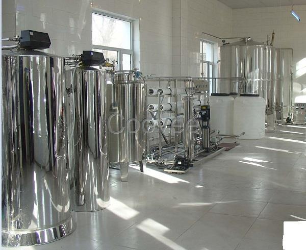 已在制备纯水的系统中逐步代替混床作为精处理设备使用.