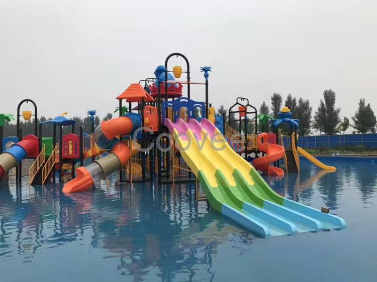 专业供应儿童水上乐园设备水屋水寨-游乐项目