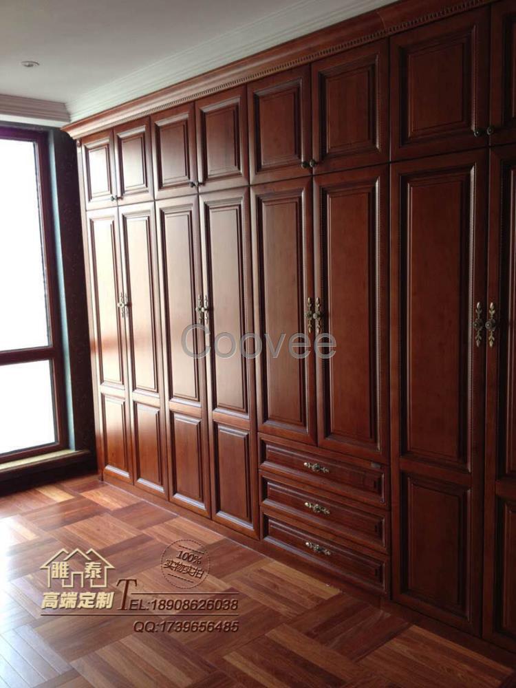供应商机 家居用品 家具 卧室家具 衣柜 欧式樱桃木武汉定制衣柜精美