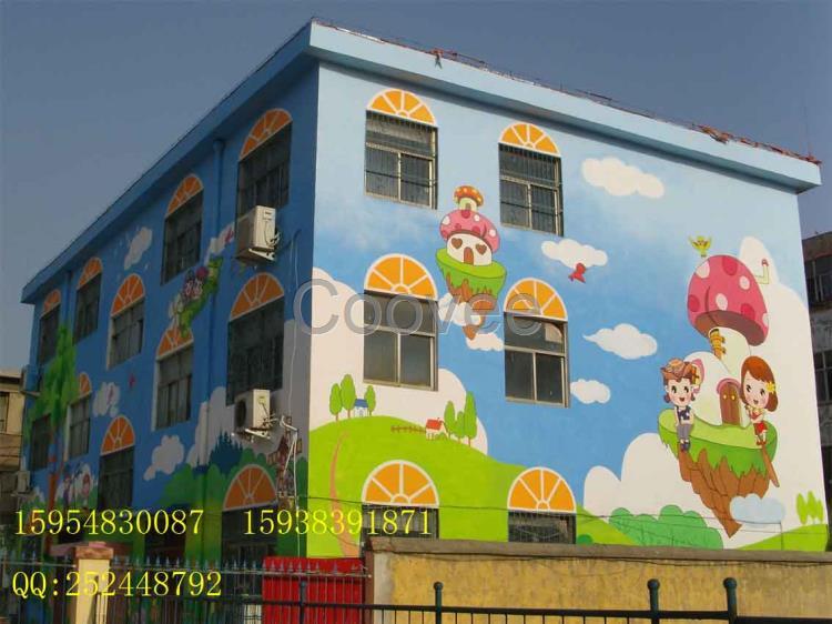 供应商机 礼品工艺品 日用摆挂饰 字画 工艺画 幼儿园壁画的绘制和