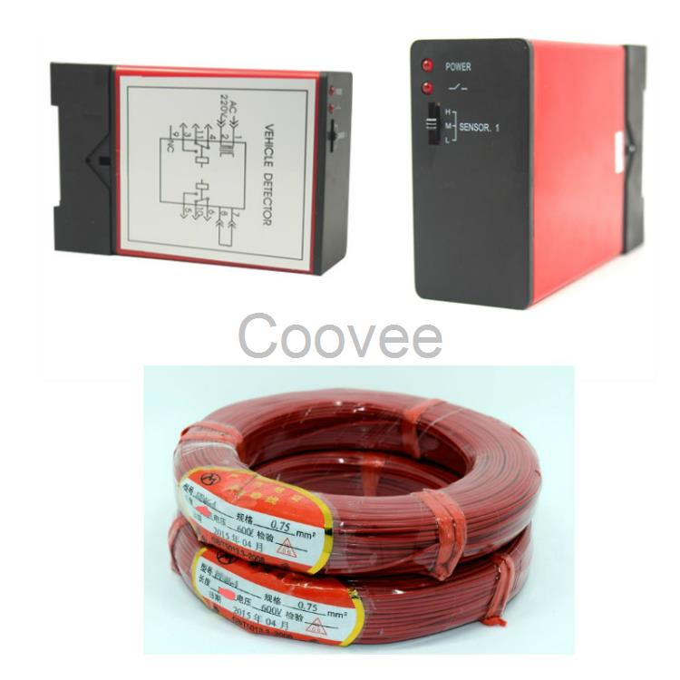 免布线地感地磁车辆检测器地感线圈道闸堆积门