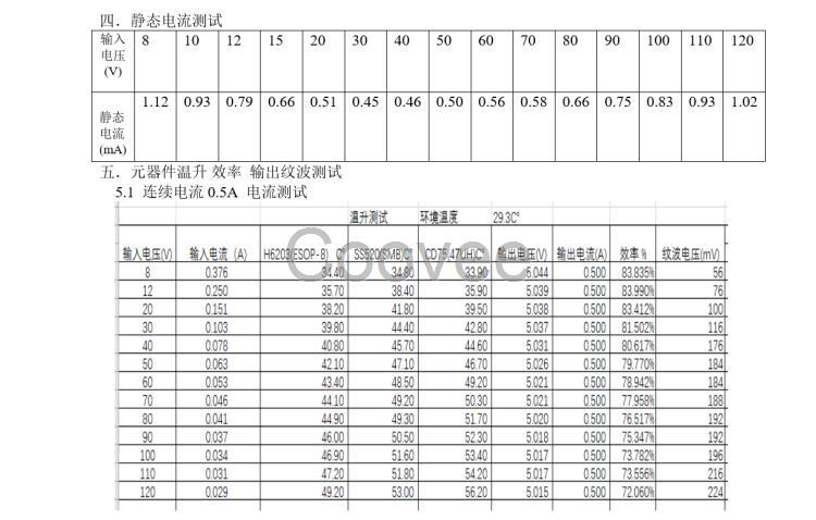 替换lm34940低功耗7-120v定位器稳压芯片h6203